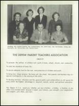 1952 Depew High School Yearbook Page 94 & 95