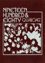1980 Yearbook Quaboag Regional High School