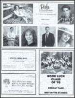 1995 John Glenn High School Yearbook Page 176 & 177