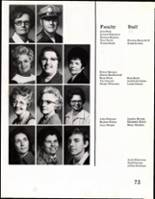 1975 Daniel Webster High School Yearbook Page 74 & 75