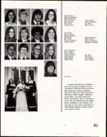 1975 Daniel Webster High School Yearbook Page 92 & 93