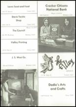 1970 Ceres High School Yearbook Page 166 & 167