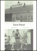 1970 Ceres High School Yearbook Page 174 & 175