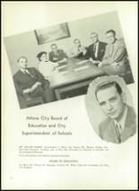 1954 Athens Christian High School Yearbook Page 12 & 13