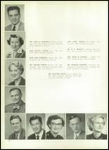 1954 Athens Christian High School Yearbook Page 16 & 17