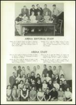 1954 Athens Christian High School Yearbook Page 54 & 55