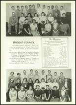 1954 Athens Christian High School Yearbook Page 60 & 61