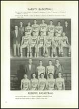 1954 Athens Christian High School Yearbook Page 74 & 75