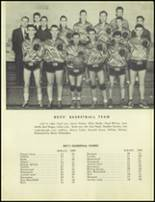 1951 Marysville-Rye High School Yearbook Page 36 & 37