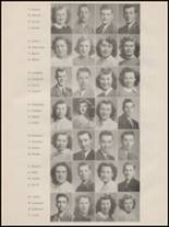 1947 Port Townsend High School Yearbook Page 14 & 15