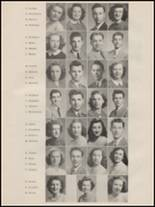 1947 Port Townsend High School Yearbook Page 16 & 17