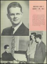 1951 Chaminade High School Yearbook Page 22 & 23