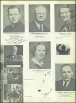1951 Chaminade High School Yearbook Page 28 & 29