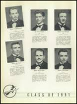 1951 Chaminade High School Yearbook Page 40 & 41