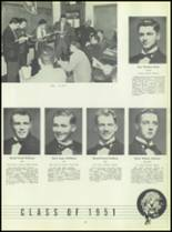 1951 Chaminade High School Yearbook Page 42 & 43