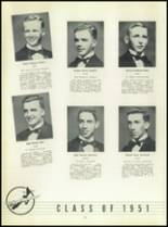 1951 Chaminade High School Yearbook Page 44 & 45