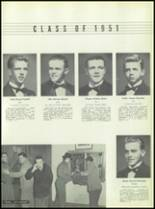 1951 Chaminade High School Yearbook Page 46 & 47