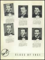 1951 Chaminade High School Yearbook Page 48 & 49