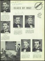 1951 Chaminade High School Yearbook Page 52 & 53