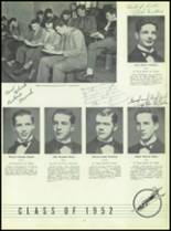 1951 Chaminade High School Yearbook Page 56 & 57