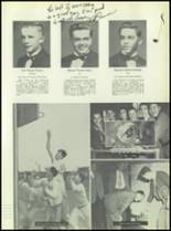 1951 Chaminade High School Yearbook Page 58 & 59