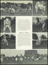 1951 Chaminade High School Yearbook Page 114 & 115