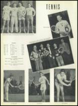 1951 Chaminade High School Yearbook Page 136 & 137