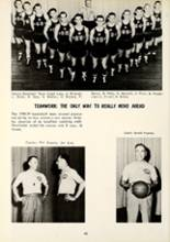 1959 Manchester High School Yearbook Page 46 & 47