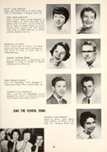 1959 Manchester High School Yearbook Page 72 & 73