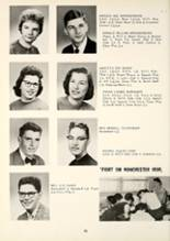 1959 Manchester High School Yearbook Page 74 & 75