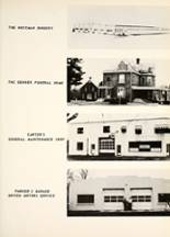 1959 Manchester High School Yearbook Page 108 & 109