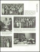 1973 Oshkosh High School Yearbook Page 42 & 43