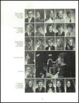 1973 Oshkosh High School Yearbook Page 54 & 55