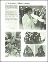 1973 Oshkosh High School Yearbook Page 128 & 129