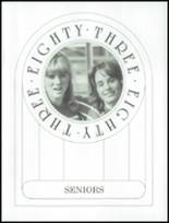 1983 Washington Township High School Yearbook Page 20 & 21