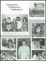 1983 Washington Township High School Yearbook Page 100 & 101