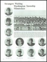 1983 Washington Township High School Yearbook Page 122 & 123