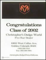 2002 Mullen High School Yearbook Page 220 & 221