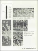 1972 St. Mary Central High School Yearbook Page 68 & 69