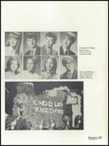 1972 St. Mary Central High School Yearbook Page 110 & 111