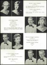 1959 Hopewell High School Yearbook Page 24 & 25