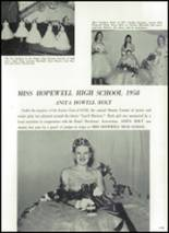 1959 Hopewell High School Yearbook Page 116 & 117