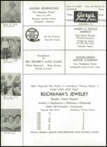 1959 Hopewell High School Yearbook Page 126 & 127