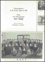 1959 Hopewell High School Yearbook Page 130 & 131