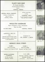 1959 Hopewell High School Yearbook Page 132 & 133