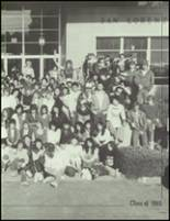 1985 San Lorenzo High School Yearbook Page 42 & 43