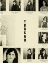 1969 Yeshiva University High School for Girls Yearbook Page 12 & 13