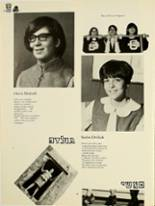 1969 Yeshiva University High School for Girls Yearbook Page 42 & 43