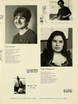 1969 Yeshiva University High School for Girls Yearbook Page 44 & 45