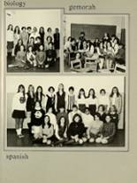 1969 Yeshiva University High School for Girls Yearbook Page 98 & 99